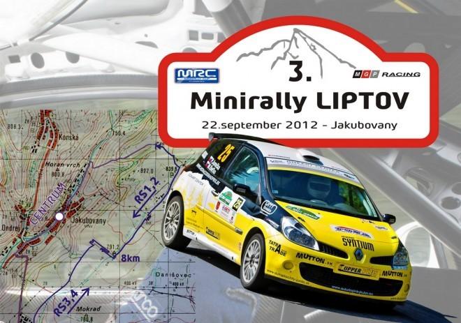plagat MiniRally liptov