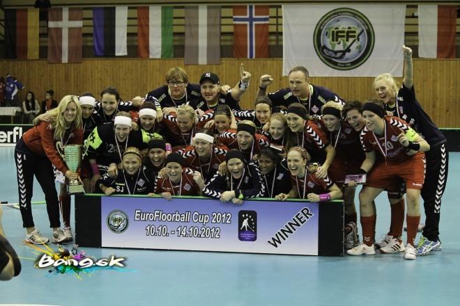 Sveiva IB EuroFloorballCup 2012