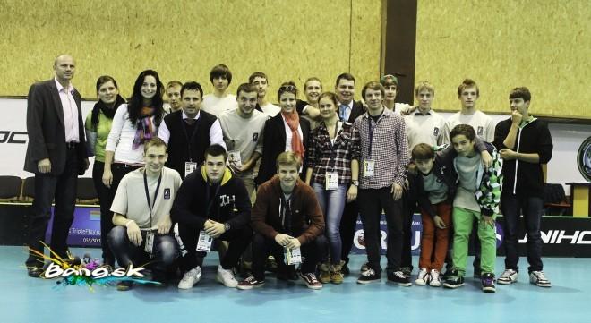 Organizačný tím EuroFloorballCup 2012