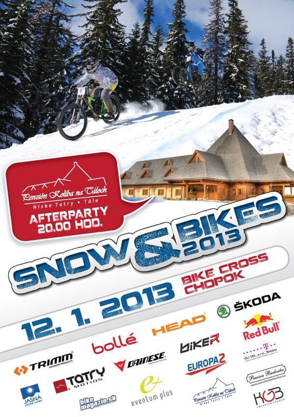 snow and bike chopok 2013