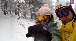 Ski Lysa - funny day bang