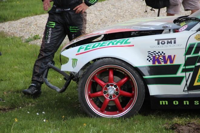 Monster KOE Pro series RD1 2013 Austria Greinbach kerenyi crash