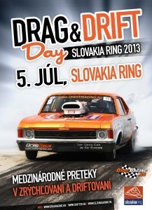 drag-and-drift slovakia ring 2013