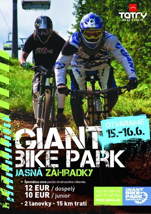 giant bike park otvaracka