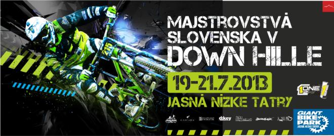 Majstrovstva slovenska v downhille 2013