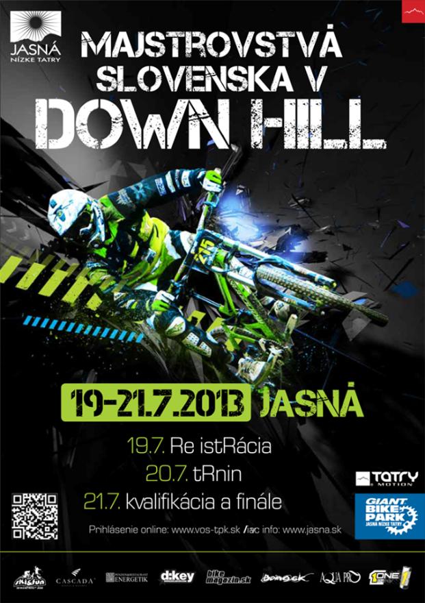 Majstrovstva slovenska v downhille 2013, Jasna