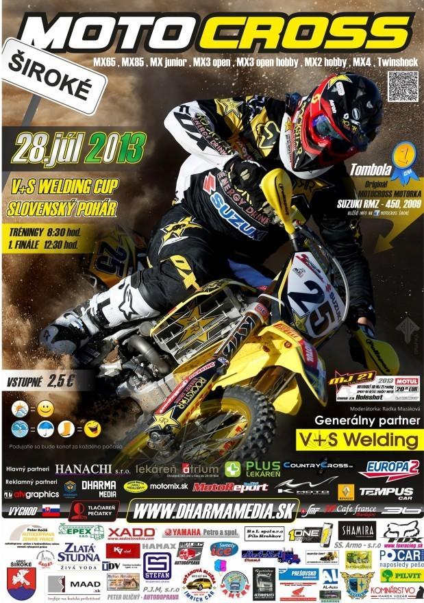 Plagat 2013 Motocross Široké ZMEN