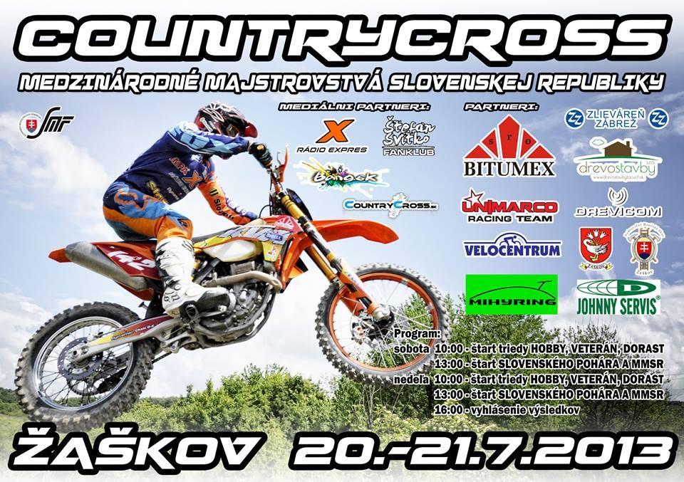 plagát countrycross žažkov