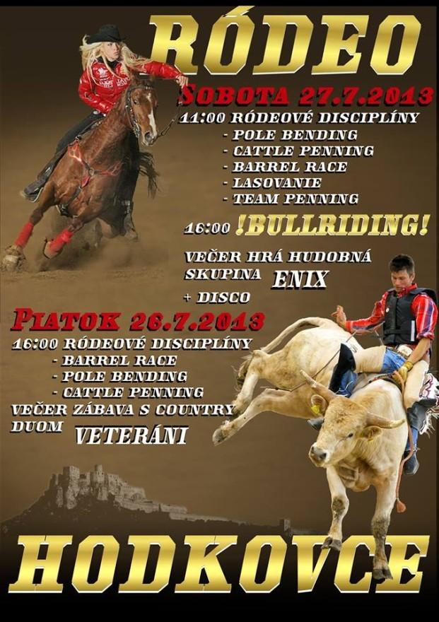rodeo hodkovce