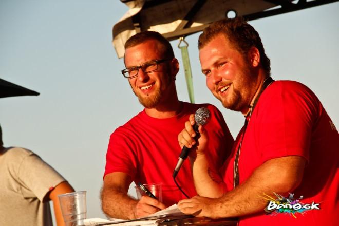 organizátor a moderátor na tuning zraze v rozhanovciach 2013