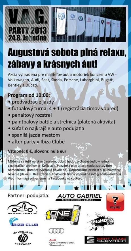 V.A.G. Party 2013 Jahodná