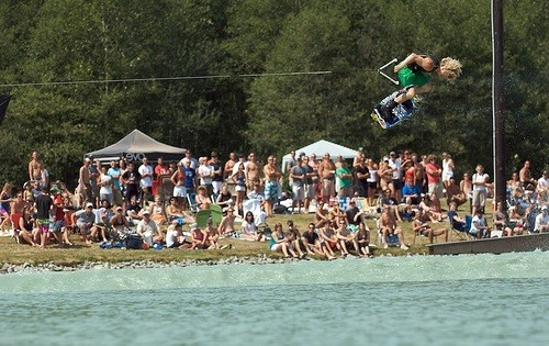 wakeboarding foto