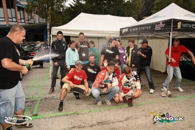 BANG team - finále Ružomberok - bike park Malino Brdo 2013