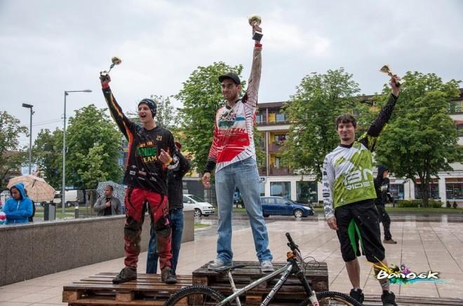 Bang Downhill Team - Pavol Kičin, 1. miesto, Vranov Downtown
