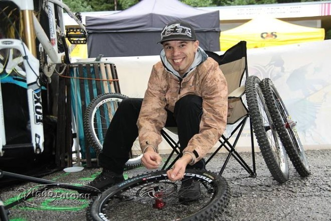 Bang Downhill Team, Peter sedlák, mechanik, Ružomberok