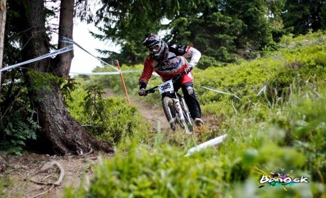 Bang downhill team - Pavol Kičin, Jasná MSR