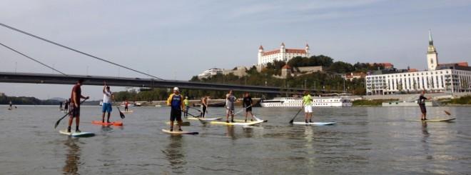 SUP maratón Bratislava 2013 (1)
