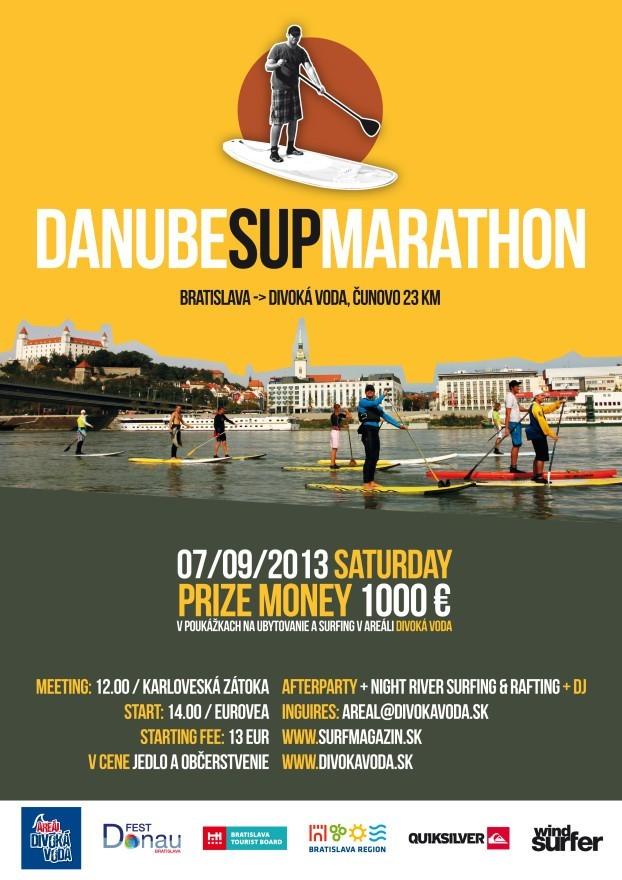 SUP maratón plagát Bratislava 2013 (8)