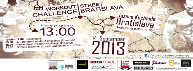 Workout Street Challenge Bratislava