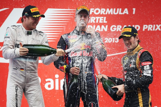 FORMULA 1 - Indian GP