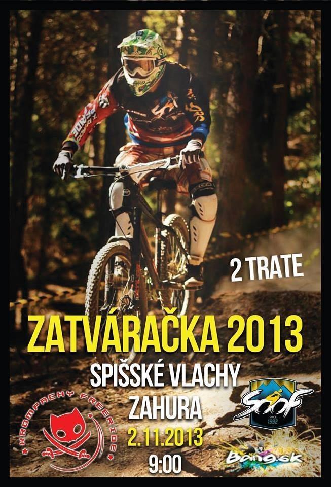 Plagát - zatvaračka bike sezóny Spišské Vlachy