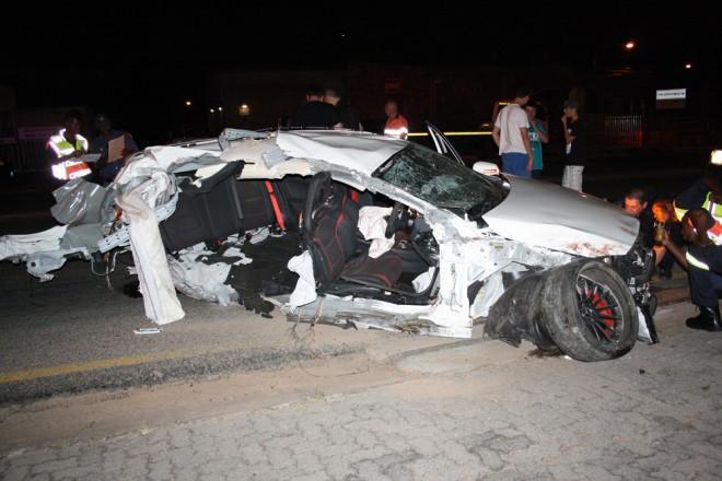 Mercedes-Benz A 45 AMG (dvaja mŕtvi)
