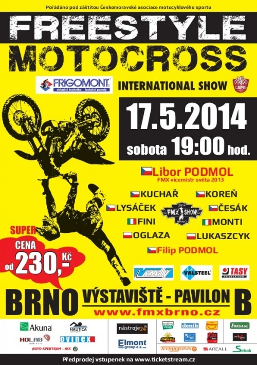 FMX show BRNO