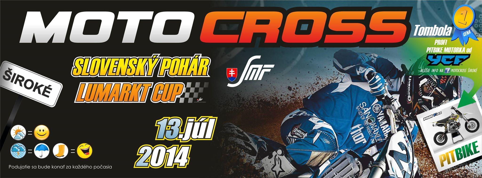 Motocross ŠIroké 2014