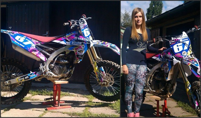 Miriama Závacká - nová motorka
