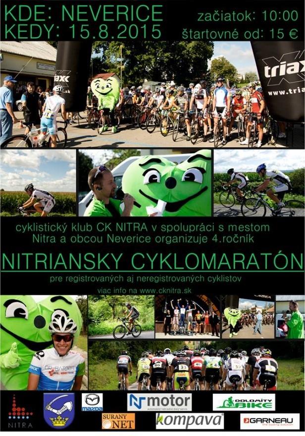 Nitriansky Cyklomaratón 2015 a