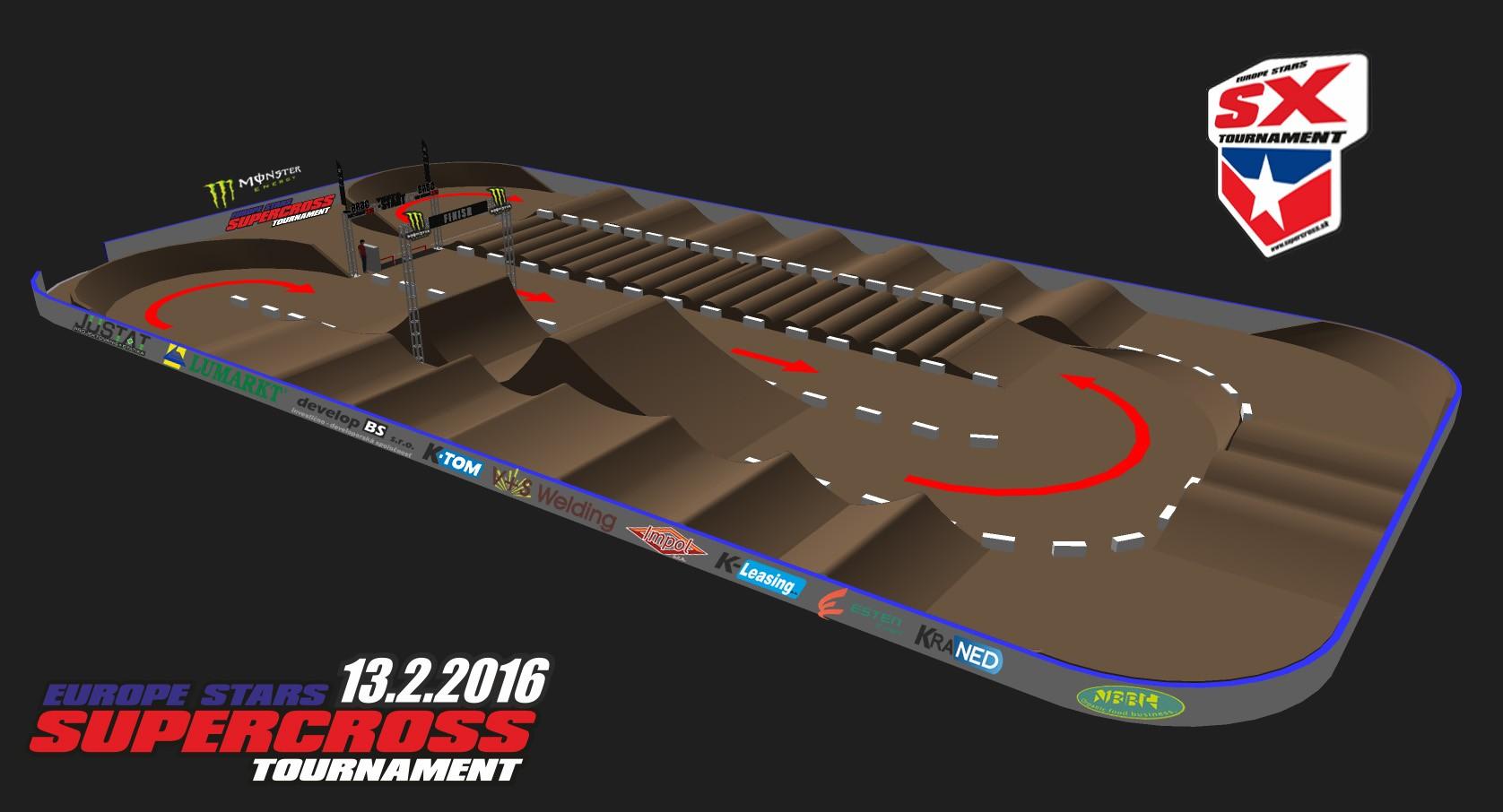 TRACK_Supercross Europe stars 2016