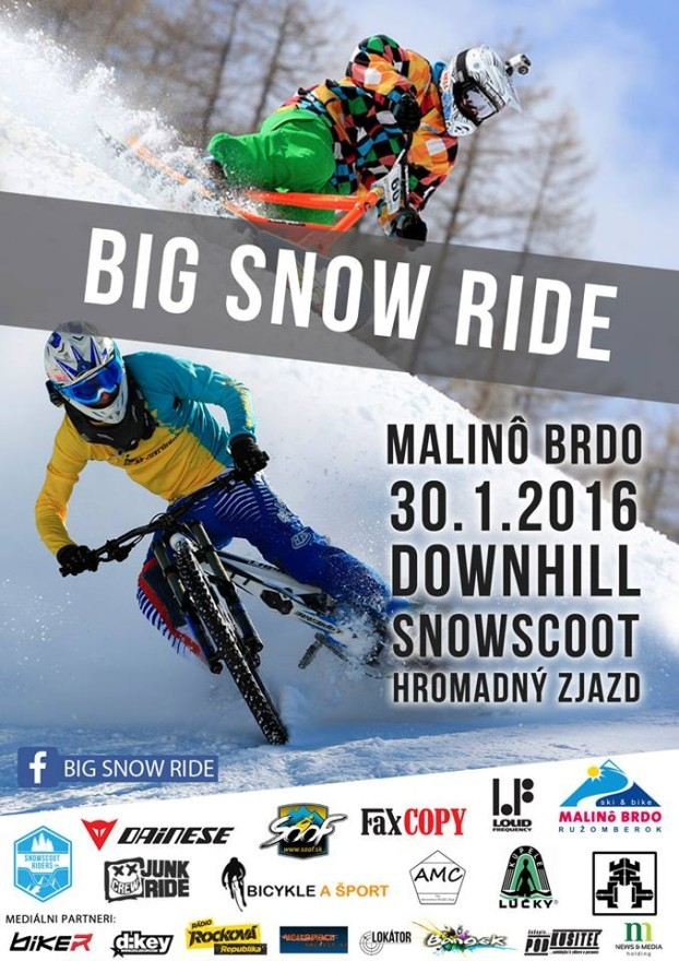2016 BIG SNOW RIDE  Malino Brdo