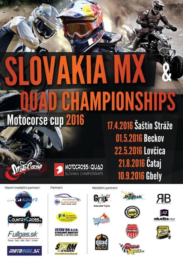 Slovakia MX & QUAD CHAMPIONSHIPS 2016