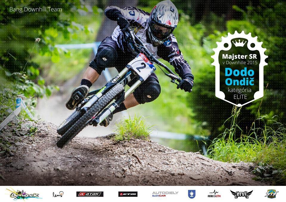 Jozef Ondič MAJSTER SR v ELITE bang downhill team 2015 p
