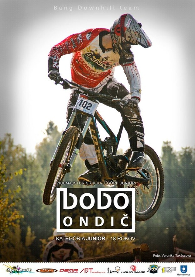 Jozef Ondič bang downhill team 2014
