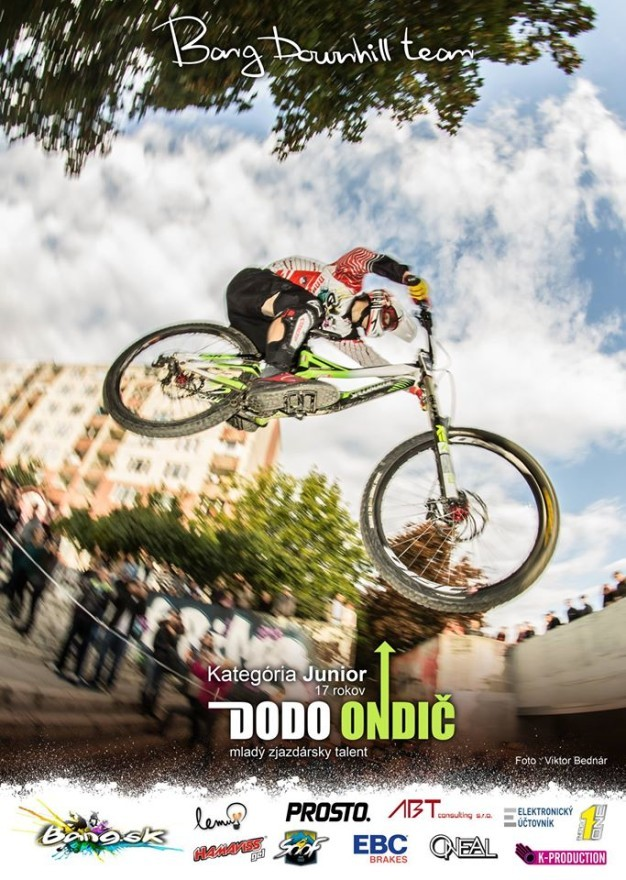 Jozef dodo Ondič bang downhill team sezona 2013 plagat