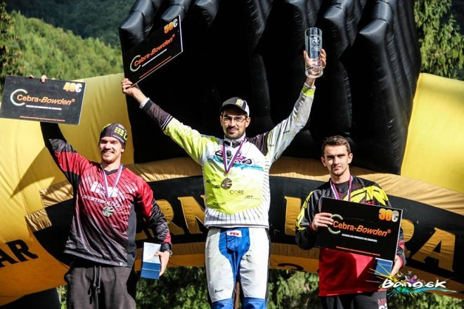 Pavol Kičin Bang Downhill Team sezóna 2015 vitaz