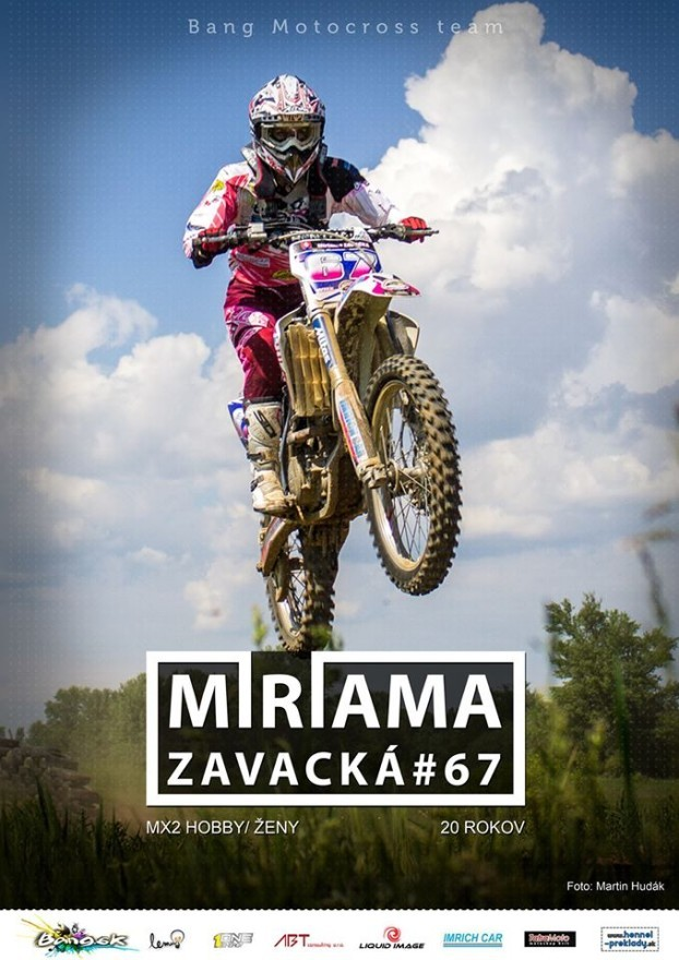 miriama zavacka sezona 2014 bang mx team