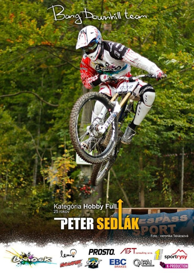 peter sedlak bang downhill team sezoan 2013 palgat
