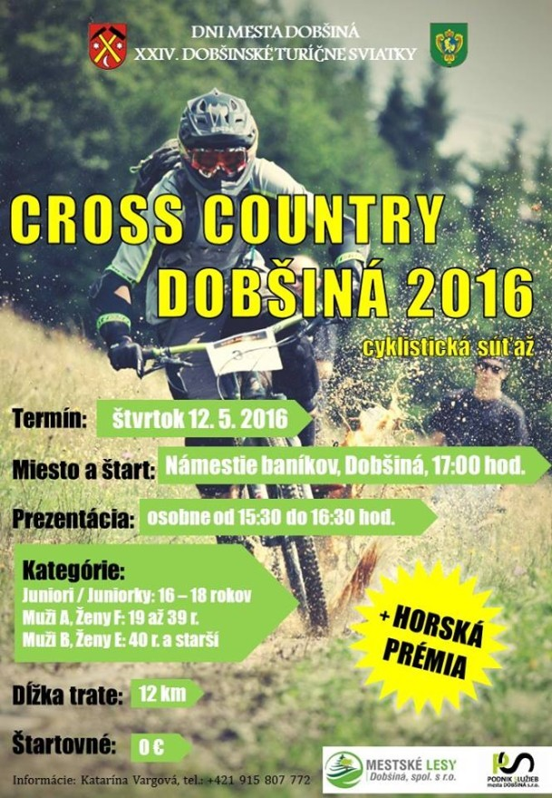 Country cross dobšina 2016