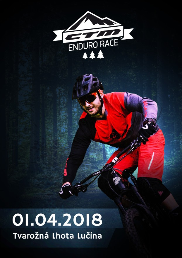 enduro race plagat