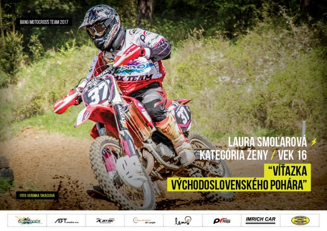 Bang MX Team - Laura Smoľarová 2017